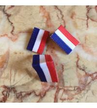 Étiquette drapeau français