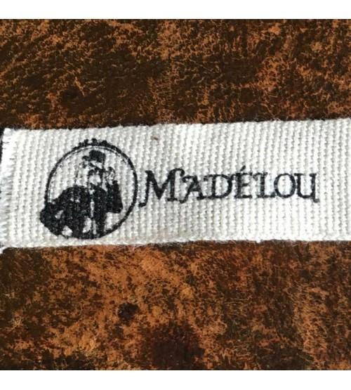 Étiquette personnalisée coton bio gros grain petite série