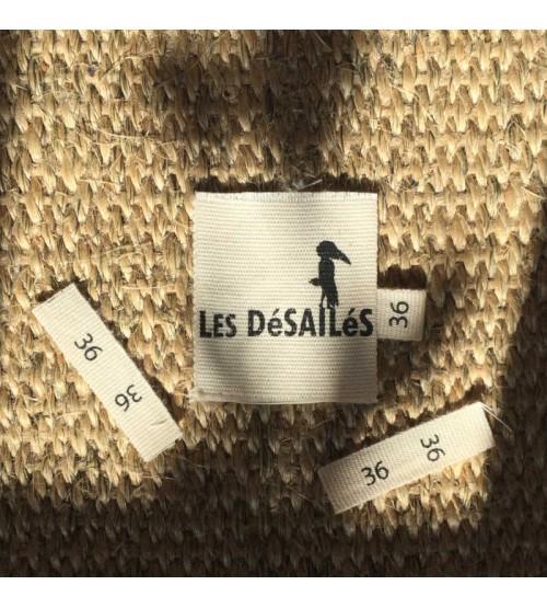 Étiquette taille 36 en coton