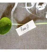 Etiquettes vêtements en coton