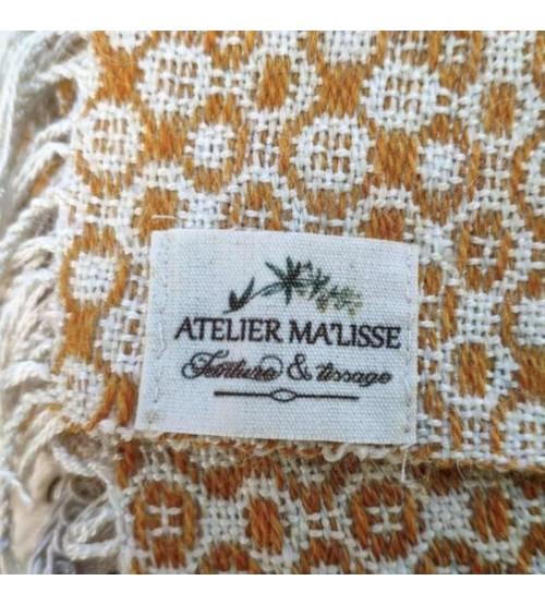 Étiquette pour vêtement comme du coton