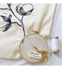 Étiquettes vêtements coton biologique
