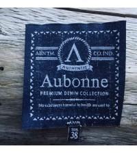etiquette fond polyester, design lin