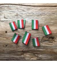 Etiquettes à coudre drapeau Italie