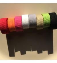 Gamme couleurs pour étiquettes vêtements en coton teint