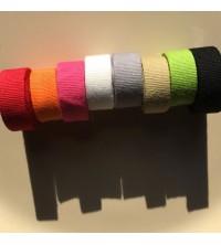 Une gamme de ruban coton teint à personnaliser