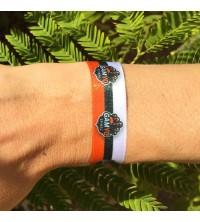 Bracelets personnalisés en couleurs