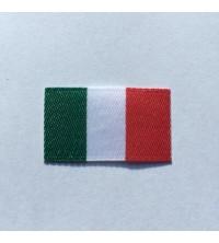 Étiquettes tissées Drapeau italien à coudre