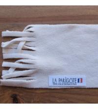 Etiquette vêtement : 60*10 mm utilisée en tant qu'étiquette écharpe