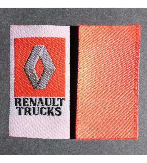 Étiquettes pour vêtements tissées Made in France