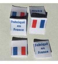 Étiquettes tissées Fabriqué en France