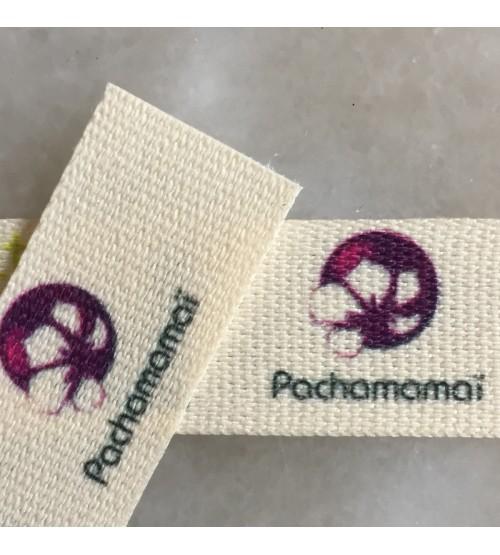 Étiquettes pour vêtements 15 mm gros grain