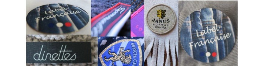 Ecussons Vêtements Personnalisés