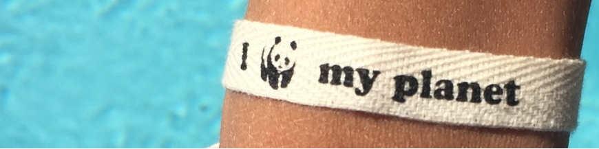 Personnalisez vos bracelets en coton bio !