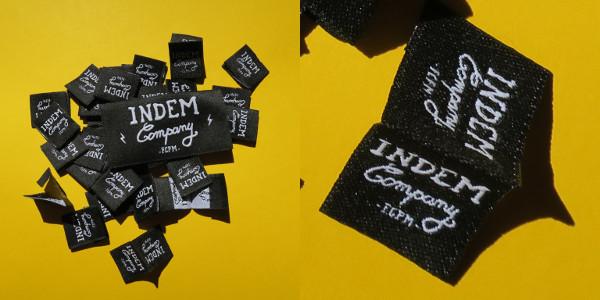 étiquettes personnalisées pliage livre