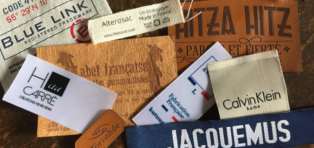 étiquettes pour vêtements made in france