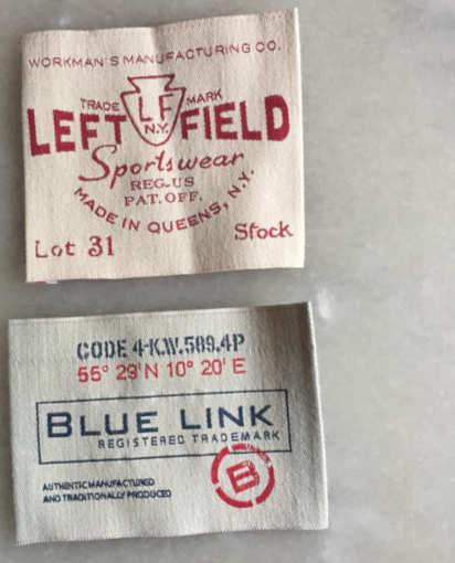 étiquettes tissées en coton made in france