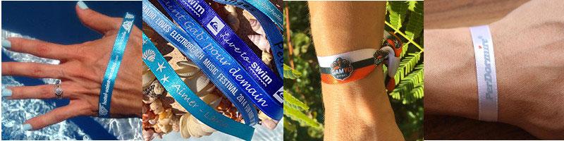 notre offre bracelets événementiels en satin double face