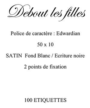 exemple de cahier des charges étiquettes pour vêtements reçu par label francaise