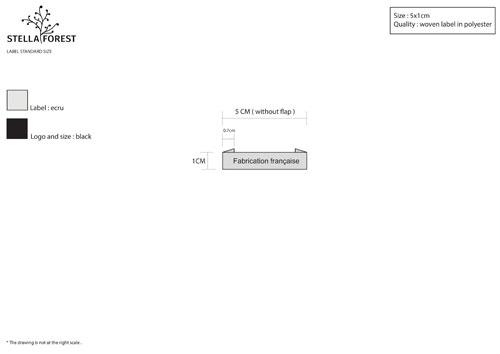 le cahier des charges stella forest pour des étiquettes personnalisées