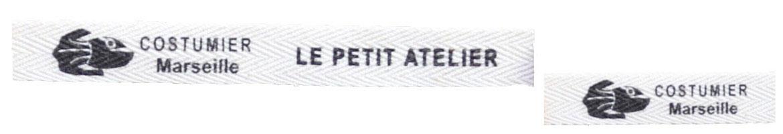 gamme étiquettes en coton biologique