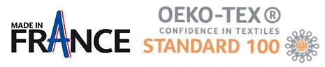 étiquettes vêtements tissées made in france certifiées oekotex